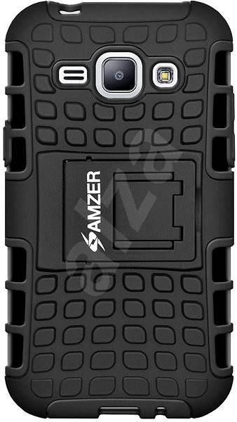 Amzer Hybrid Warrior Case pro Samsung Galaxy J1 (SM-J100H) - Ochranný kryt