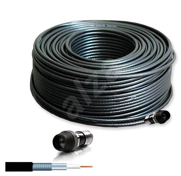 Hirschmann COCA 799 B univerzální venkovní kabel 20m - Video kabel