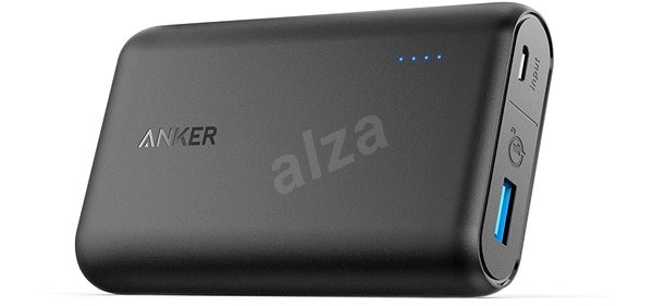 Anker PowerCore Speed 10000mAh with QC 3.0 Black - Powerbanka