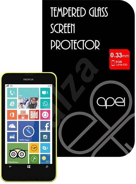 Apei Slim Round Glass Protector pro Lumia 630 - Ochranné sklo