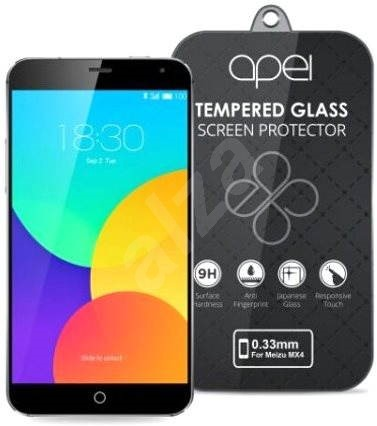 Apei Slim Round Glass Protector pro Meizu MX4 - Ochranné sklo