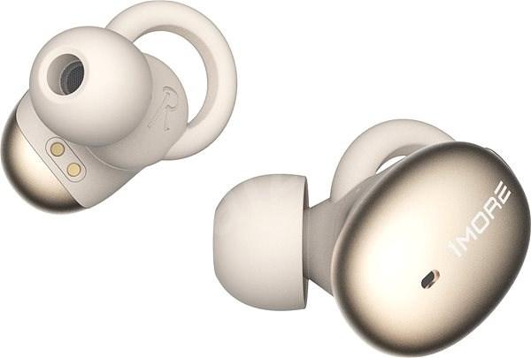 1MORE Stylish Truly Wireless Headphones Gold - Bezdrátová sluchátka