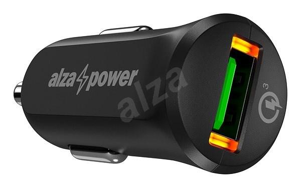 AlzaPower Car Charger X310 Quick Charge 3.0 černá - Nabíječka do auta