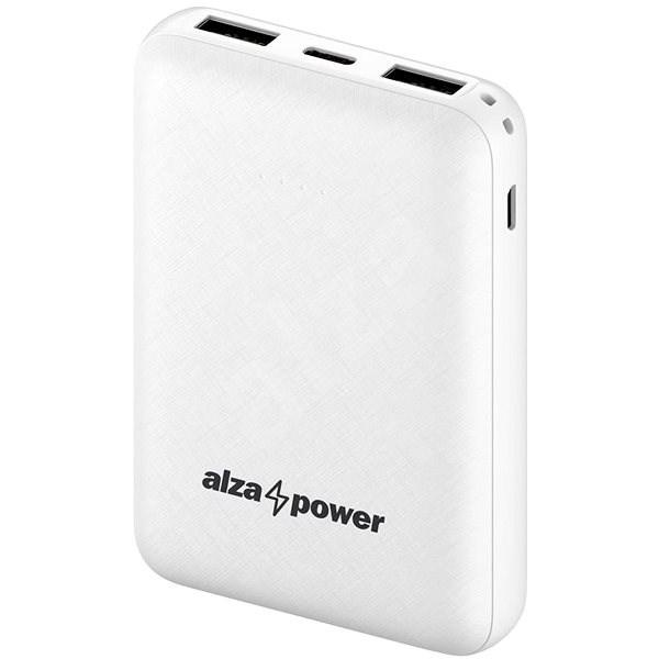 AlzaPower Onyx 10000mAh USB-C bílá - Powerbanka