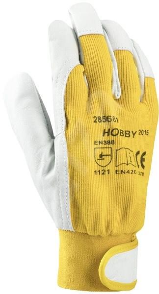Ardon Rukavice HOBBY ŽLUTÉ, vel. 07 - Pracovní rukavice
