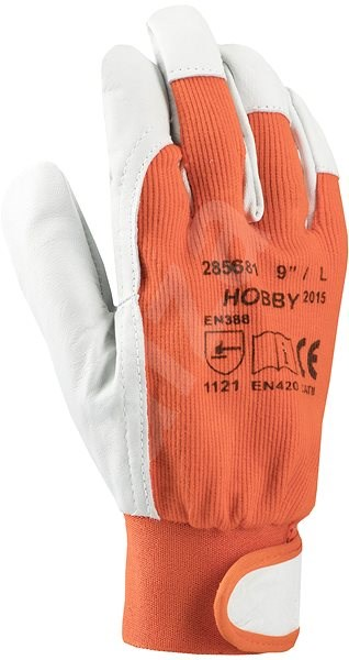 Ardon HOBBY ORANGE Gloves, size 09 - Work Gloves