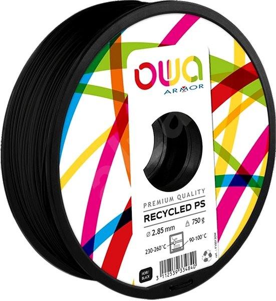 OWA 3D - PS 1.75mm, černá, 750g - Filament
