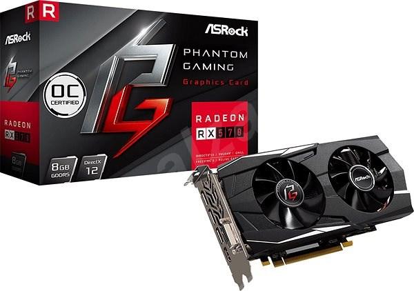 ASROCK Radeon RX 570 Phantom Gaming D 8G OC - Grafická karta