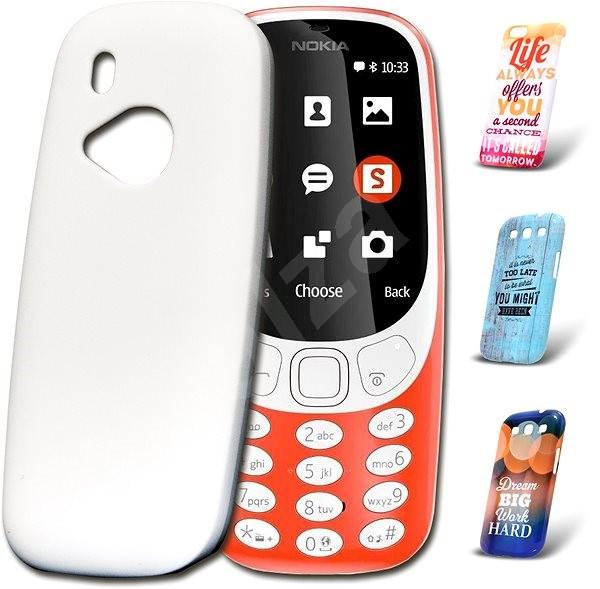 Skinzone vlastní styl Snap pro Nokia 3310 (2017) - Ochranný kryt Vlastní styl