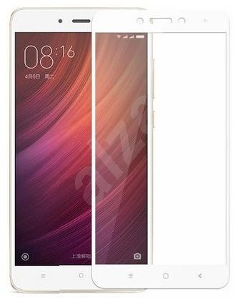 ScreenShield XAIOMI Redmi Note 4 White BULK - Ochranné sklo