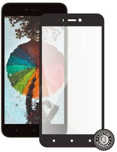 Screenshield XIAOMI RedMi Note 5A Global black - Ochranné sklo