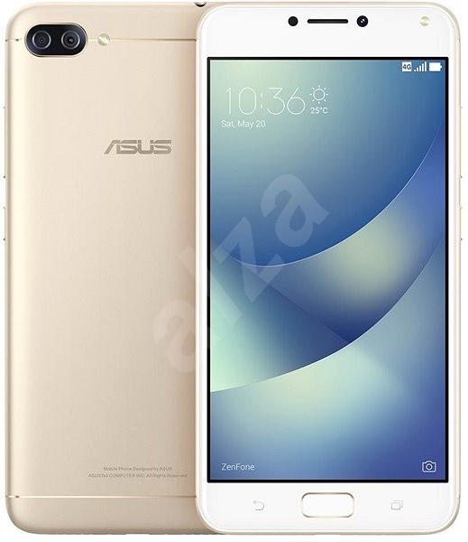 Asus Zenfone 4 Max ZC554KL Metal/Gold - Mobilní telefon