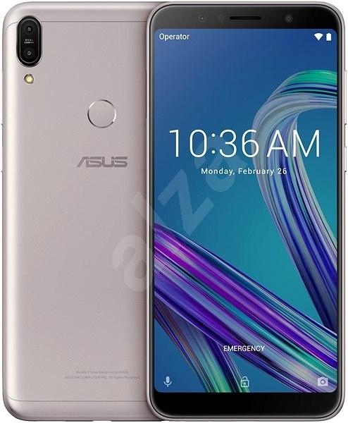 Asus Zenfone Max Pro M1 ZB602KL stříbrná - Mobilní telefon