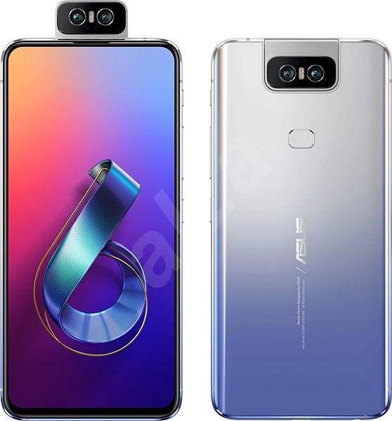 Asus Zenfone 6 ZS630KL 128GB stříbrná - Mobilní telefon
