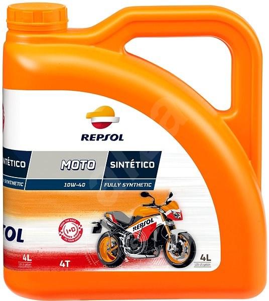 REPSOL MOTO SINTETICO 4-T 10W-40 4l - Motorový olej