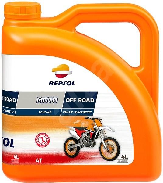 REPSOL MOTO OFF ROAD 4-T 10W-40 4l - Motorový olej