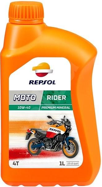REPSOL MOTO RIDER 4-T 10W-40 1l - Motorový olej