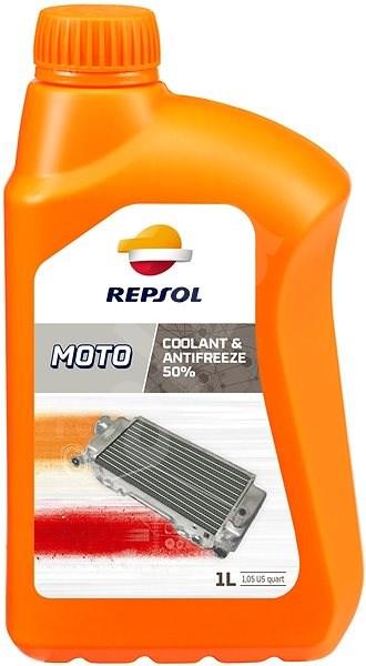 REPSOL MOTO COOLANT & ANTIFREEZE 50% 1l - Chladící kapalina