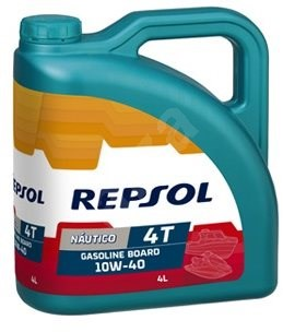 REPSOL NAUTICO GASOLINE BOARD 10W-40 4l - Motorový olej