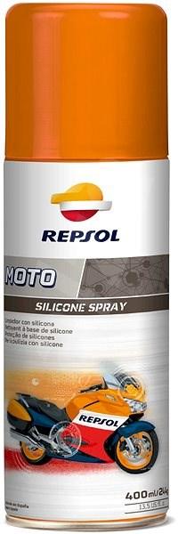 REPSOL MOTO SILICONE SPRAY - Oživovač plastů