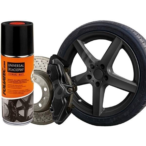FOLIATEC - barva na brzdy ve spreji - černá - Barva na brzdy