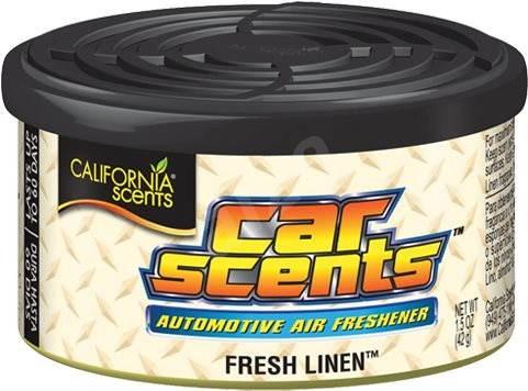 California Scents Fresh Linen - Vůně do auta