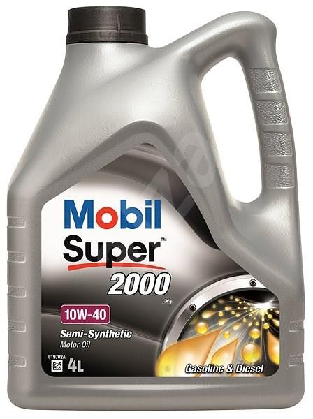 Mobil Super 2000 X1 10W-40 4l - Motorový olej