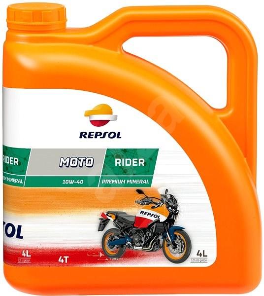 REPSOL MOTO RIDER 4T 10W-40 4l - Motor Oil