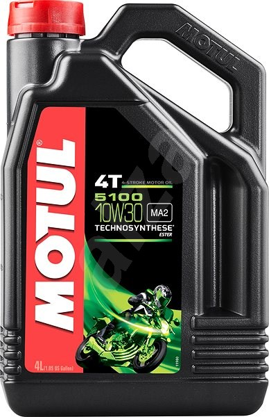 MOTUL 5100 10W30 4T 4L - Motorový olej