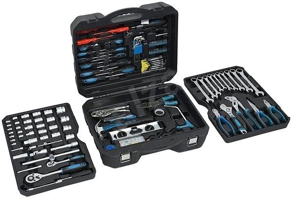 COMPASS tool case 257 parts, PROFESSIONAL - Tool Set