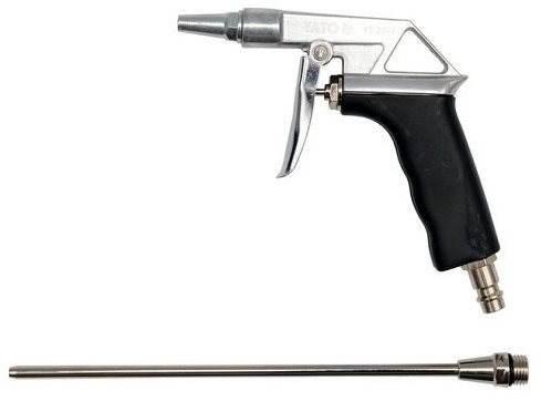 """YATO Pistole na profukování dlouhá 0,8Mpa 1/4"""" - Stříkací pistole"""