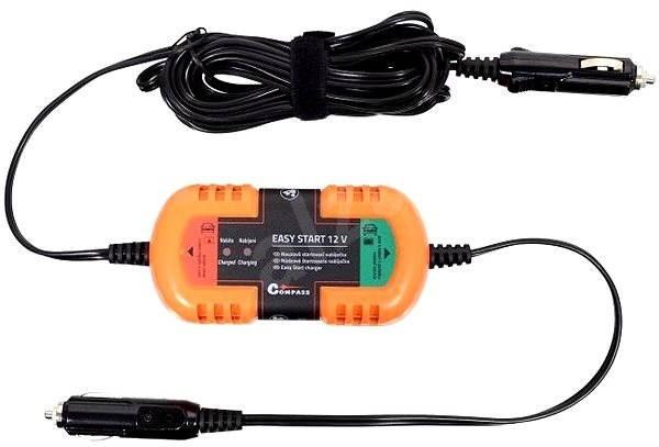 COMPASS Startovací nabíječka nouzová 12V EASY START - Nabíječka akumulátorů