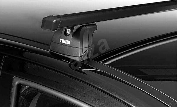Thule střešní nosič pro PEUGEOT, 407, 4-dr Sedan, r.v. 2004->2010, s fixačním bodem. - Střešní nosiče