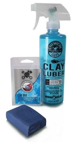 Chemical Guys Clay Bar & Luber Synthetic Lubricant Kit, Light Duty - Sada autokosmetiky