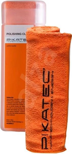 Pikatec Jemný hadřík z mikrovlákna oranžový - Čisticí utěrka