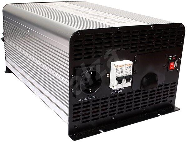 Space Měnič napětí 24V/230V 2000W, čistá sinusovka - Měnič napětí
