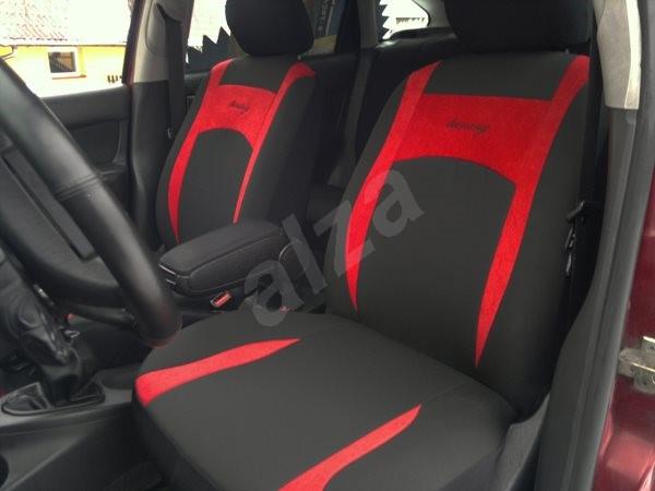 SIXTOL Design červené - Autopotahy