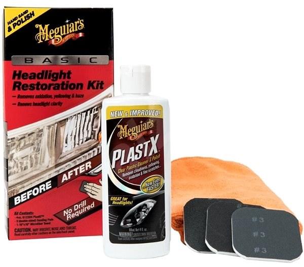 Meguiar's Basic Headlight Restoration Kit - Autokosmetika