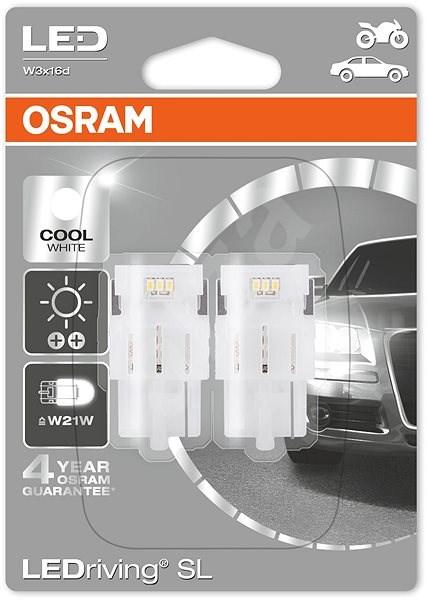 OSRAM LEDriving SL W21W 2ks - Autožárovka