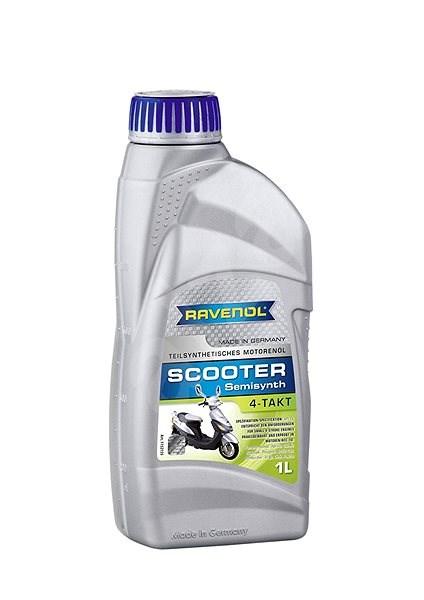 RAVENOL SCOOTER 4-Takt Teilsynth.; 1 L  - Motorový olej