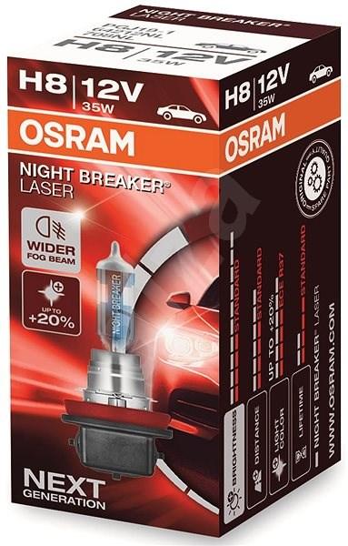 OSRAM H8 Night Breaker Laser Next Generation +150% - Autožárovka