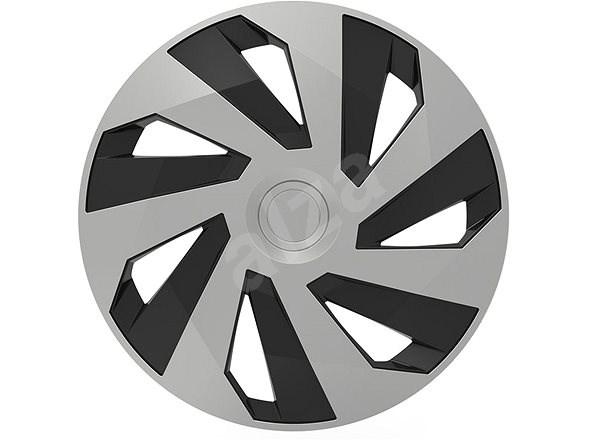 "VERSACO VECTOR 14"" silver/black - Poklice na kola"