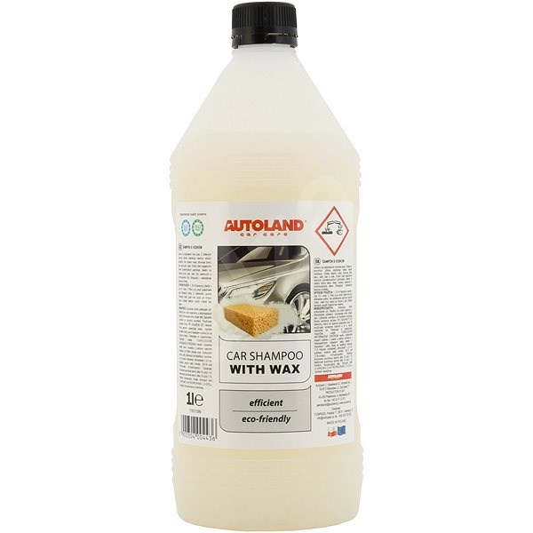 COMPASS Auto-shampoo with NANO+ 1l wax - Car Wash Soap
