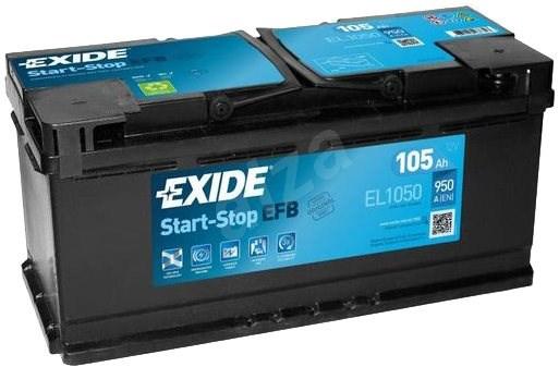 EXIDE START-STOP EFB 105Ah, 12V, EL1050 - Car Battery