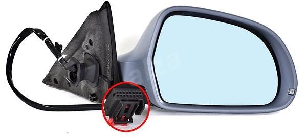 ACI 0327808 zpětné zrcátko pro Audi A4 - Zpětné zrcátko