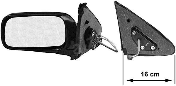 ACI 3317815 zpětné zrcátko pro Nissan ALMERA N15 - Zpětné zrcátko