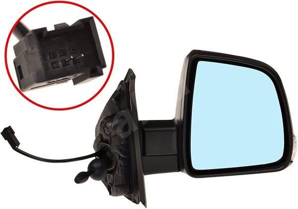 ACI 3706814 zpětné zrcátko pro Fiat DOBLO, Opel COMBO - Zpětné zrcátko
