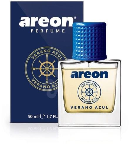 AREON PERFUME GLASS 50ml Verano Azul - Vůně do auta