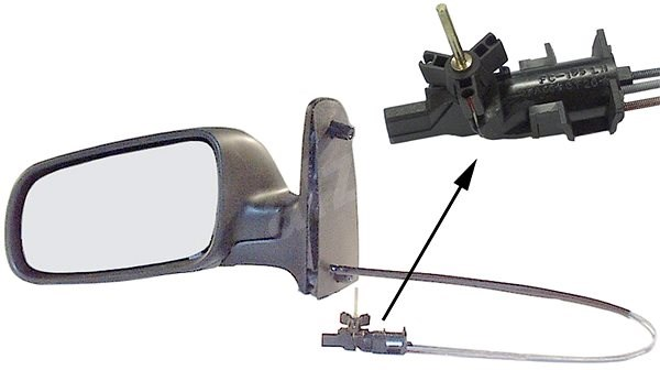 ACI 5879803 zpětné zrcátko pro Seat ALHAMBRA , VW SHARAN - Zpětné zrcátko