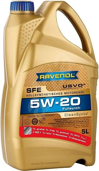 RAVENOL SFE SAE 5W-20; 5L (Akce 5l za cenu 4l) - Motorový olej